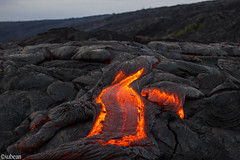 Flowing lava in different shapes (xubean) Tags: hawaii hawaiiisland photography nepaliphotographer nepali