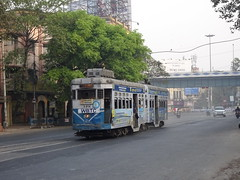 Kolkata 248 Park Circus (Guy Arab UF) Tags: west bengal transport corporation 248 burn standard articulated tram syed amir ali avenue park circus kolkata india calcutta tramways tramway streetcar strassenbahn trams