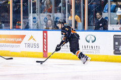 "Kansas City Mavericks vs. Toledo Walleye, January 20, 2018, Silverstein Eye Centers Arena, Independence, Missouri.  Photo: © John Howe / Howe Creative Photography, all rights reserved 2018. • <a style=""font-size:0.8em;"" href=""http://www.flickr.com/photos/134016632@N02/39839491171/"" target=""_blank"">View on Flickr</a>"