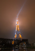 Eiffel Tower (Beau Finley) Tags: beaufinley france paris toureiffel tour tower eiffel eiffeltower night fog city lights