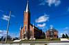 St. John the Baptist Roman Catholic Church (ramseybuckeye) Tags: land cross tipped churches ohio church maria stein catholic mercer county st john baptist roman