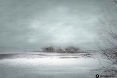 Nebliger Wintertag am Chiemsee Die Sonne kommt durch (john_berg5) Tags: mist fog chiemsee lake bayern bavaria chiemgau germany landscape outdoor cloudy sky