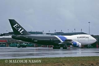 BOEING 747-236B G-BDXH EUROPEAN AIRCHARTER