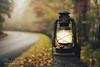 Traveling Light (Brad Lackey) Tags: travelinglight blueridgeparkway asheville northcarolina appalachianmountains fall autumn lantern fog rain wood forest road parkway scenic driving october bokeh nikon35mmf18 d7200