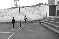 School court (rural serie) (Julián del Nogal) Tags: school court games children childrengames rural streetphotography