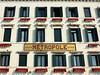 Venedig Hotel Metropole; Mosaik des Namensschildes (Wolfsraum) Tags: rivadeglischiavoni hotel metropole