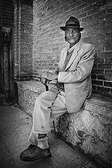 hassan ghahremani (freakingrabbit) Tags: portrait bw old man painter iran black white persia shiraz hassan ghahremani baghe qavambalck