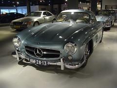 Mercedes Benz 300 SL Gullwing 06-1955  AM-28-13 (harry.pannekoek) Tags: mercedes benz 300 sl gullwing 061955 am2813 rudge knock off knockoff wheel wheels rare