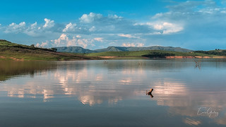 Furnas Lake - Guapé/MG - clouds