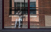 Inside Boise (The.Mickster) Tags: portrait distortion historic mirror reflection brick buildings self city idaho window randy 365 boise hereios architecture downtown