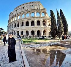 Colosseum (ioriogiovanni10) Tags: jovyx74 buonaserata click gopro hero5 capitale anticaroma cielo suora rome riflessi passeggiata city colosseo fotografia roma