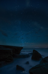 Night at northern beaches (FPL_2015) Tags: northernbeaches sydney nsw australia nightscape stars astrophotography sky samyang14mmf28 canon5dsr