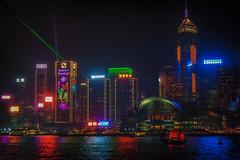 Laser Guided Melodies (tagois) Tags: 灣仔 wanchai victoriaharbour hongkong 香港 symphonyoflights