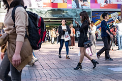 Sleek Chic (burnt dirt) Tags: asian japan tokyo shibuya station streetphotography documentary candid portrait fujifilm xt1 laugh smile cute sexy latina young girl woman japanese korean thai dress skirt shorts jeans jacket leather pants boots heels stilettos bra stockings tights yogapants leggings couple lovers friends longhair shorthair ponytail cellphone glasses sunglasses blonde brunette redhead tattoo model train bus busstation metro city town downtown sidewalk pretty beautiful selfie fashion pregnant sweater people person costume cosplay black lace floral
