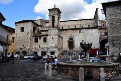 Narni - Italy! (Biagio ( Ricordi )) Tags: narni italy umbria borgo medievale architettura chiesa fontana nuvole