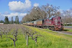 Napa Valley's RS11 (CN Southwell) Tags: napa valley rr railroad wine train california alco rs11
