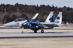 Japan Air Self Defence Force, McDonnell Douglas F-15DJ Eagle, 52-8088. (M. Leith Photography) Tags: mark leith photography japan japanese self air defence force jasdf mcdonnell douglas ibaraki hyakuri sunshine base fighter nikon d7000 d7200 70200vrii 300mmf4 nikkor asia flying military sky building airplane cockpit aircraft jet f15 eagle
