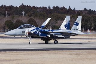 Japan Air Self Defence Force, McDonnell Douglas F-15DJ Eagle, 52-8088.