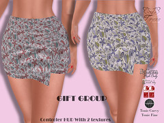 Treze March Gift Group (trezedesigns) Tags: free gift secondlife slink maitreya lady fashion standard skirt sizing tonic curvy fine