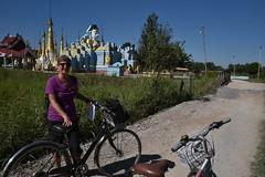DSC_6983 (Kent MacElwee) Tags: myanmar burma sea asia southeastasia bike bicycle nyaungshwe buddhist buddhism buddha temple pagoda nilelake inlelake shanstate