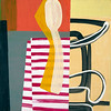 Abstract composition (Natasha Davydova) Tags: art artwork acrylic painting picture cardboard object line hardedge abstract abstraction collage