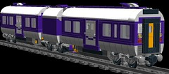 Friends DMU (v2) (M_slug357) Tags: friends heartlake train pf power powerfunctions functions electric diesel locomotive long purple silver tracks lego engine abs battery bricks big builds coach control custom engineering flowers hobby haul white head technique idea ideas infrared wip moc motor motorized magnets mta coaches passenger plastic railroad receiver rail remote render set studs