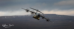 RAF A400M Atlas ZM409 low level in Northern England (NDSD) Tags: yorkshire dales north northern low level airbus a400 cumbria flying jet raf lake district transport plane aircraft aviation