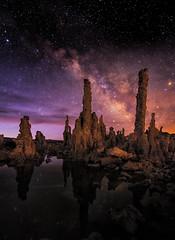 Mono Lake Nightscapes (Arwinder Nagi) Tags: california mono lake milkyway stars night nightscape shootingnomads nagiphotography nagiphotographycom tufa eastern sierras