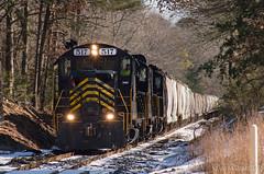 W&W CM-10 @ Newport, NJ (Dan A. Davis) Tags: ww winchesterandwestern railroad locomotive train freighttrain shortlinerailroad newport dividingcreek gp9 nj newjersey cm10