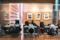 屏東最早的攝影師李秀雲 當年所使用的相機 目前收藏在竹田火車站旁的紀念館 (MissingBeagle) Tags: fujifilm xt20 xf 1855mm f284 r lm ois