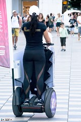 Girl in segway Nice France 2017 (seifracing) Tags: girl segway nice france 2017 seifracing spotting services security emergency europe rescue recovery transport traffic cars car voiture girls candid sexy seif photography