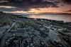 View of the Small Isles (Leigh Garner) Tags: 2017 scotland sunset rocks elgol leighgarner seascape isleofskye nikond750 uk sea