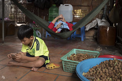 Smartphone generation (Andrea Rizzi Esk) Tags: vietnam mokong delta village rural tradition street young smartphone technology child junior asian people