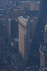 IMGP5355 Flatiron Building (Claudio e Lucia Images around the world) Tags: newyork nyc ny manhattan bigapple apple winterinny pentax pentaxk5 cielo architettura edificio flatiron flatironbuilding broodway
