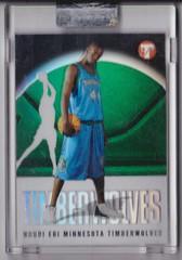 2003-04 Topps Pristine Refractors #176 Ndudi Ebi uncirculated RC #'d 1181:1999 1 (hoosierdealer) Tags: 200304 topps pristine basketball refractor serial numbered d uncirculated rookie rc ry