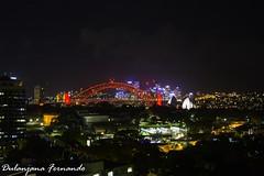 Sydney Night (Dulanjana Fernando) Tags: sydney australia night life town city dulanjana fernando photography harborbridge operahouse