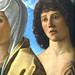 BELLINI Giovanni,1487 - La Vierge et l'Enfant entre Saint Pierre et Saint Sébastien (Louvre) - Detail 32