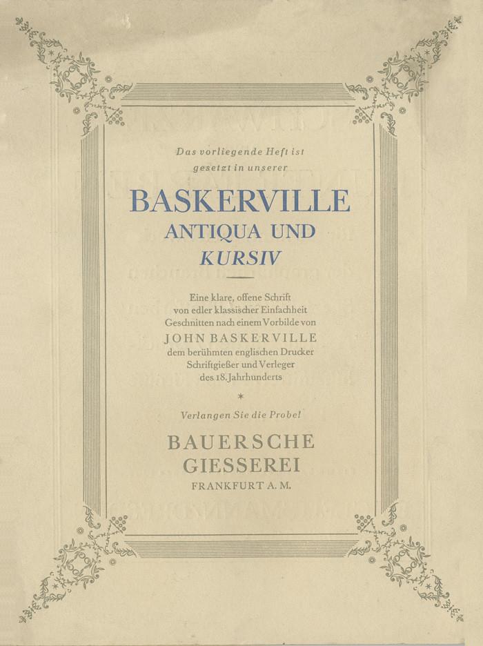 John Baskerville Virgil