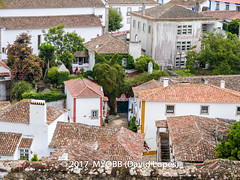 Portugal 2017-8289860-2 (myobb (David Lopes)) Tags: 2017 adobestock allrightsreserved europe obidos portugal unesco unescoworldheritagesite worldheritagesite aerialview architecture buildingexterior buildingstructure copyrighted day highangleviewoutdoors history medieval middleages roof rooftile smalltown tourism town traveldestination vacation ©2017davidlopes
