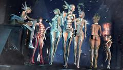 861 (Tomomi alpaca Homewood) Tags: r2 ade otome collabor88 乙女 insilico cyborg cyber bodysuit costume doll
