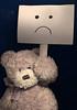 :( (Jessica Coudert) Tags: stuffed plush nounours toys toy strike greve greviste unhappy sad teddy teddybear stuffedanimal triste