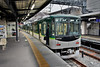Keihan Railway 10054, Chushojima (Howard_Pulling) Tags: japan rail railway zug bahn train trains trainsinjapan japanese howardpulling photo picture gare