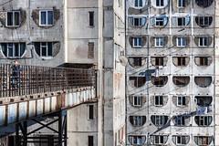(ilConte) Tags: tbilisi georgia georgian architettura architecture architektur cccp soviet block cemento concrete