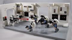 A New Hope Opening Scene (legonachos) Tags: clone star wars lego battlefront vader rebel rebels stromtrooper jedi darth moc sith afol tfol tantive iv 2 hoth episode 4 force awakens