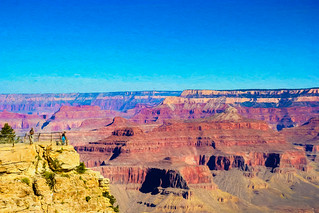Grand Canyon Digital Painting