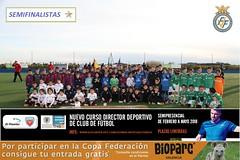 VIII Copa Federación Benjamín Fase* Jornada 2