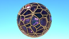 Veroni 2019 Fracture Oooooo Home (RandomMan) Tags: octane octa octanerender c4d cinema 4d cinema4d maxon otoy abstract digitalart art digital 3d 3drending r19 veroni jewels rocks shiny faceted diamonds