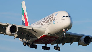A6-EOR Emirates Airbus A380