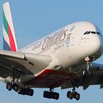 A6-EOR Emirates Airbus A380 thumbnail