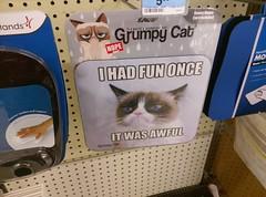 Grumpy Cat (at the Jackson TN Kmart) (l_dawg2000) Tags: 1970s apparel appliances bigk classic departmentstore discountstore electronics food jacksontn kmart pharmacy retro tennessee tn vintage jackson unitedstates usa